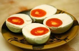Pembuatan telur asin melalui proses difusi