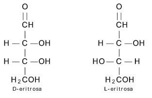 D-eritrosa dan L-eritrosa