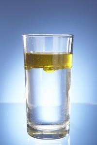 Minyak dan air tidak bercampur