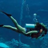 Tekanan hidrostatis yang dialami penyelam