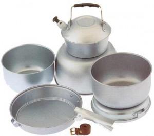 Aluminium digunakan pada alat memasak