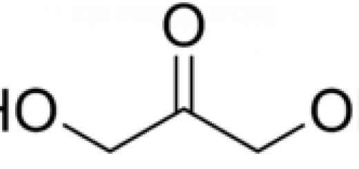Struktur molekul DHA