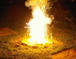 Pembakaran merupakan contoh perubahan kimia